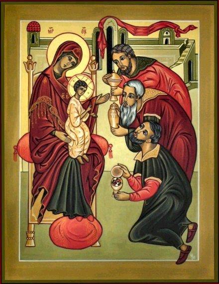 ÉPIPHANIE DU SEIGNEUR dans images sacrée adoration-of-the-magi