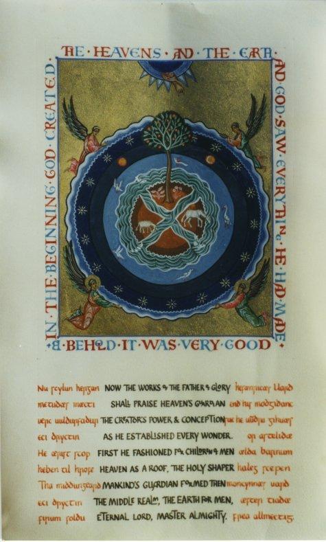 Caedmon, Poet, c. 680 | For All the Saints
