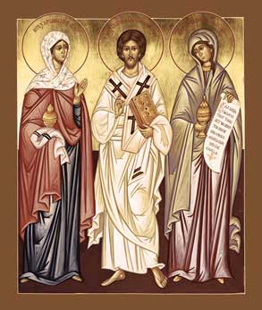 Mary, Martha, and Lazarus of Bethany | For All the Saints