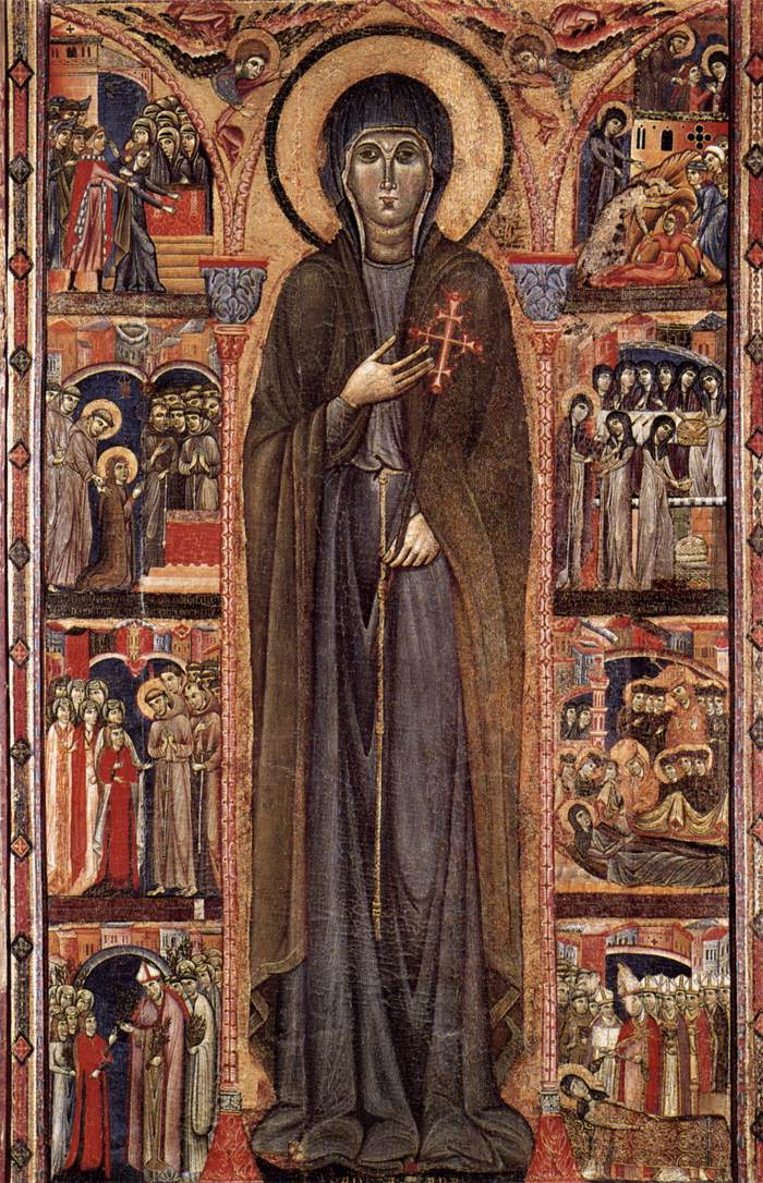 a biography of saint clare Clare, like francis, did not choose poverty for philosophical reasons, nor for practical ones, as a choice making her life more productive or efficient.