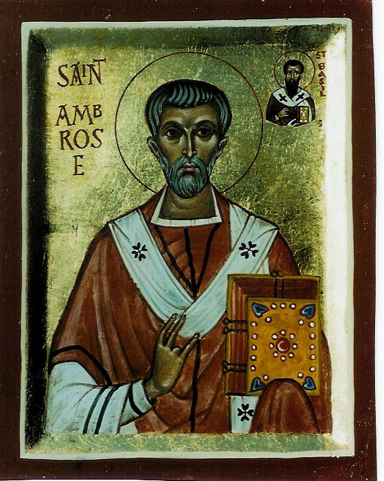 img ST. AMBROSE, the Bishop of Milan