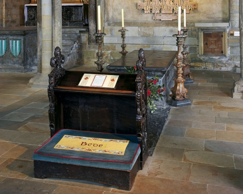Tomb of St Bede the Venerable (Durham Cathedral)