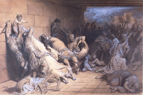 Holy Innocents (The Martyrdom of the Holy Innocents, Gustave Dore)